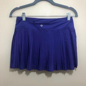 NWT! Lululemon Purple Women's Skort Size 4